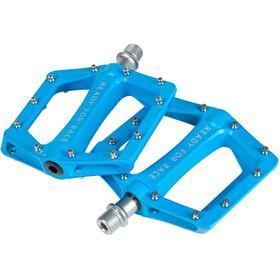 Cube RFR Flat Race Pedale blue